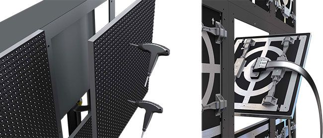 front-and-rear-maintenance-aluminum-LED-display-screen