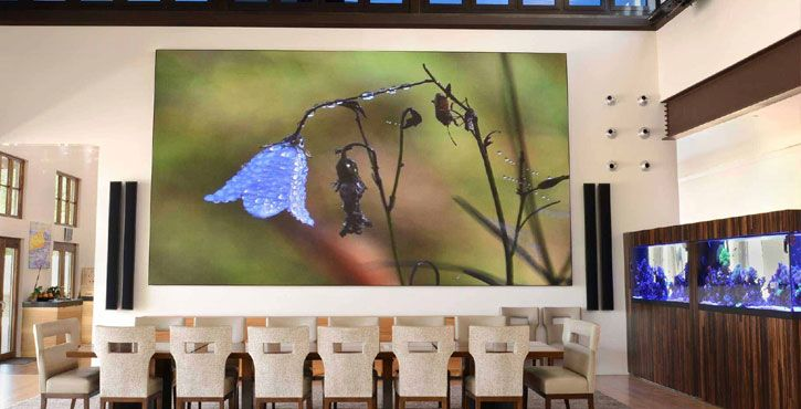 p1.25 small pixel pitch led display wall