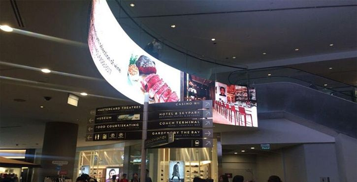 p2.6 curve led display screen panels
