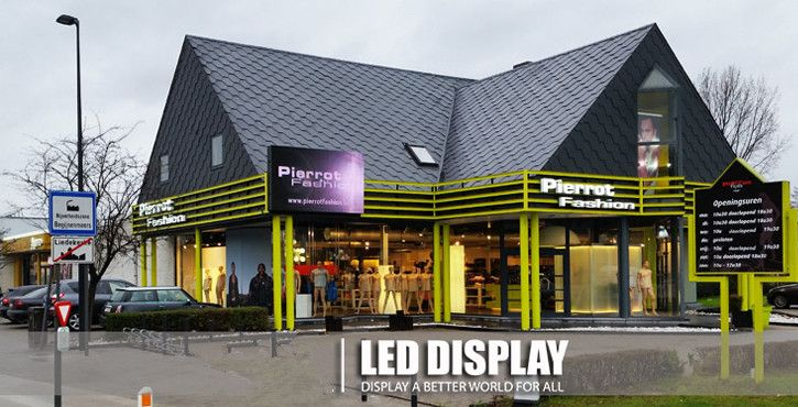 p3 outdoor led display wall