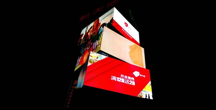 p3 outdoor led video wall panel