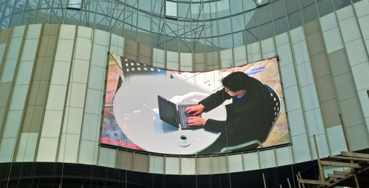 p8 outdoor advertising led display