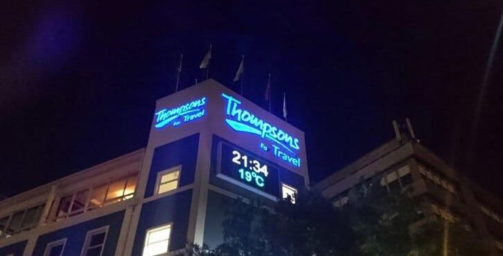 p8 outdoor ip67 led display