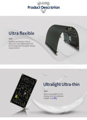 led soft display