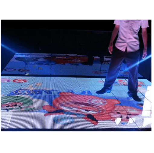 interactive led tile display