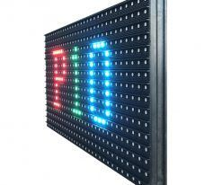 parede led p10 colorida