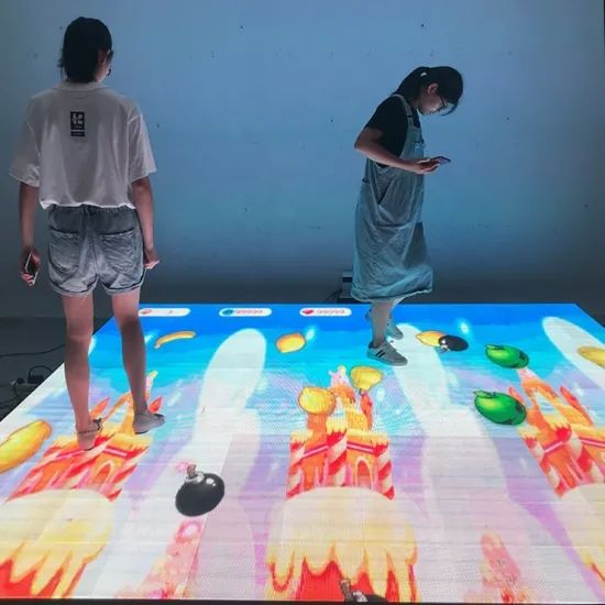 P4.81 interactive dance floor led display screen for party and wedding ceremonies (2)