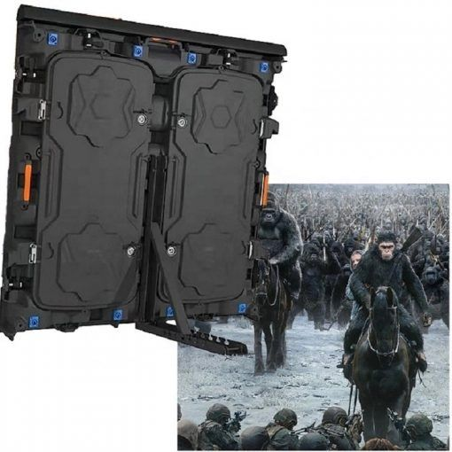 Commercial advertising Ip65 outdoor display 1080p full color hd led screen p10 (2)