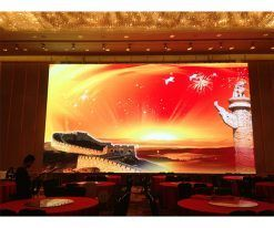 Hanging stacking high resolution event stage display rental screen led p3 indoor (4)