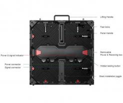 P2.6mm 실내 임대 LED 디스플레이 비디오 월 (2)