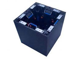 구부려 진 indooroutdoor p2.6 p2.9 p3.91mm 광고를위한 작은 피치에 의하여 구부려지는 가동 가능한지도 된 전시 화면 (1)