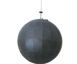 360 видимый творческий внутренний открытый сферический светодиодный дисплей (5)